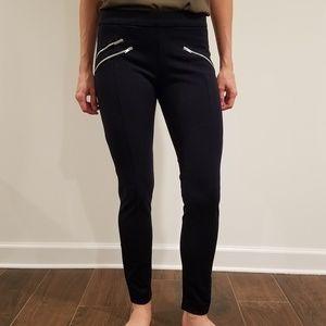 Stretchy Navy Zara Skinny Pants